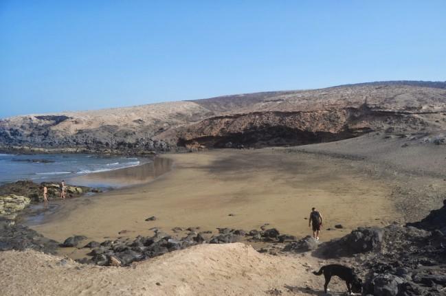 foto playa para perros Los Tres Peos