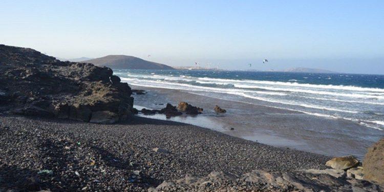 Vista de la playa de Los Cuervitos