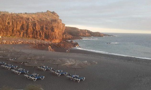 Foto de la playa El Callao, en Las Bajas Tenerife