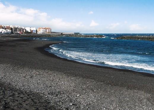 Foto de la playa para perros de Puertito de Güimar, Tenerife