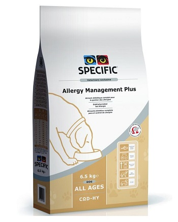 Pienso para perros con alergias e hipersesibilidad de la piel Specific COD-HY Allergy Management Plus