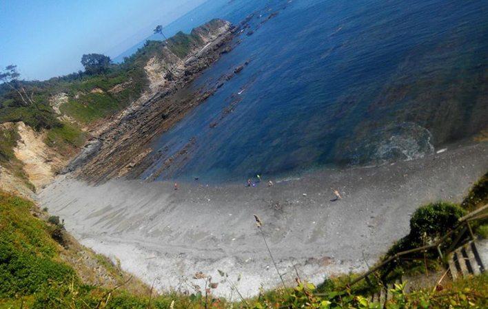 playa para perros de Cambaredo en El Franco Asturias