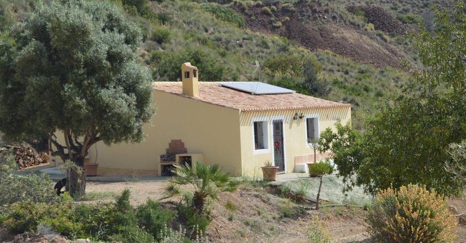 Exterior y vistas de la Finca El Carrascal en Murcia donde tienes mucho campo para pasear con tu mascota