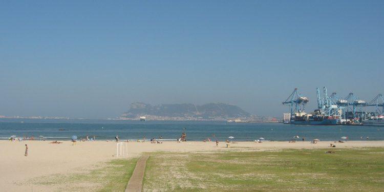 playa de la concha en Algeciras para Perros