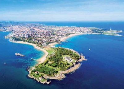 Foto de la ciudad de Santander donde se encuentran los hoteles que admiten perros de nuestro listado