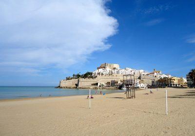Vista de la playa de Castellón de la Plana donde se encuentran los hoteles que aceptan mascotas de nuestro listado