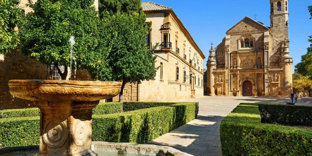 Foto del Palacio de Úbeda en la ciudad de Úbeda donde se encuentran los hoteles que admiten perros de nuestro listado.