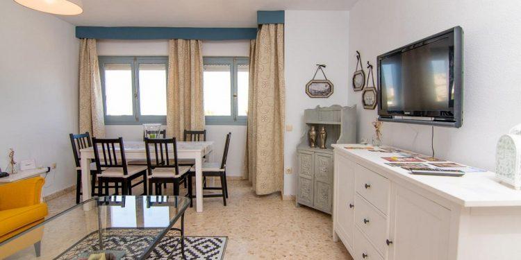 Interior del apartamento en Vejer de la Frontera, un de los mejores para ir con tu perro