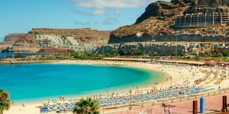Apartamentos que admiten mascotas cerca de la playa de Puerto Rico en Gran Canaria