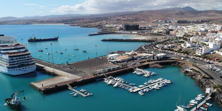 Puerto de Puerto del Rosario en Fuerteventura