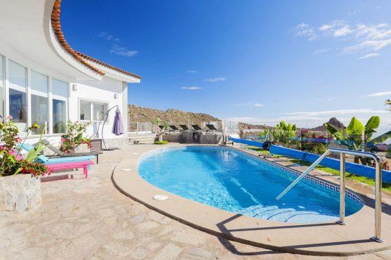 Villa que admiten mascotas en Adeje en el Sur de Tenerife