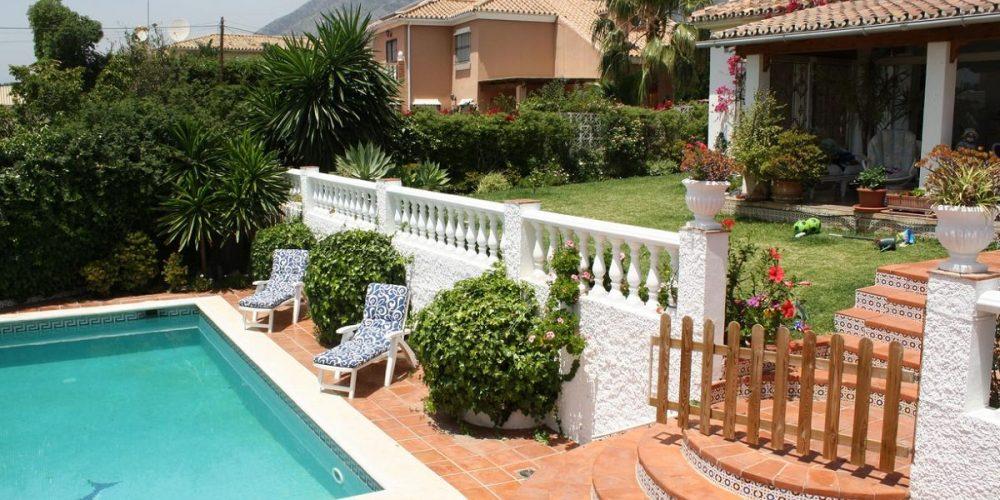 Villas y chalets que admiten mascotas en Fuengirola