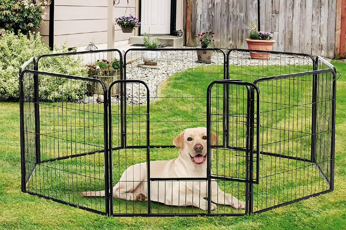 Los mejores parques plegables para perros