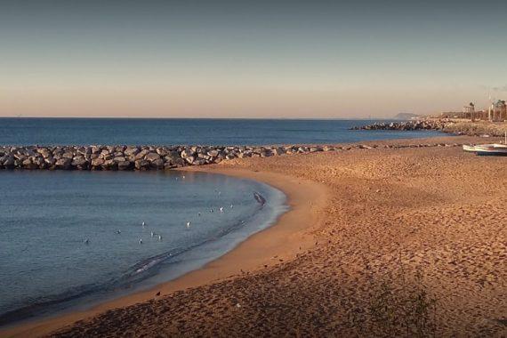 playa para perros en Mataró